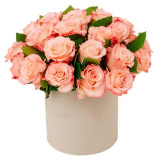 Цветы в коробке «Манящий»