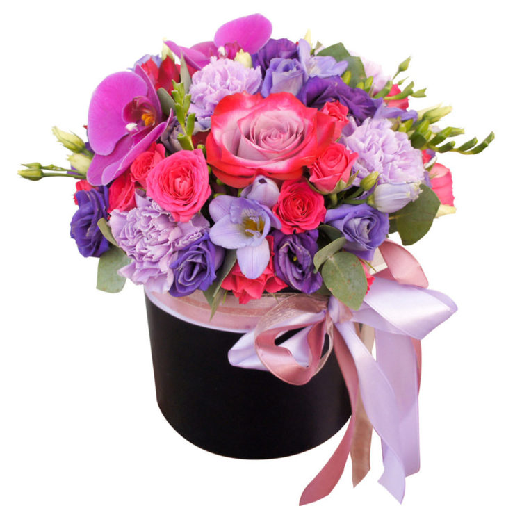 """Цветы в коробке """"Женская мечта"""""""